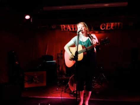 Performing at he Railway Club in Vancouver