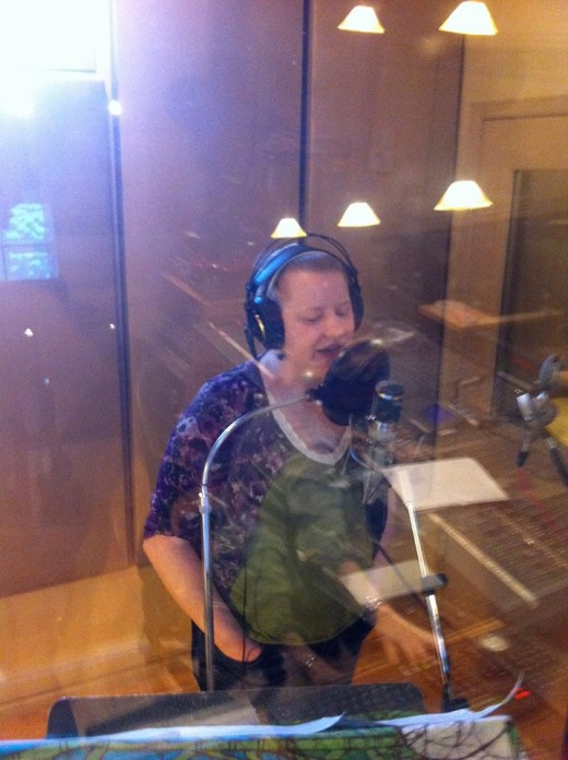 Another shot of me recording my vocals