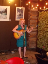 Performing at Cafe Shaika in Montrel