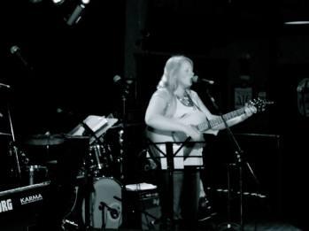 Performing at McNally's Pub in Regina